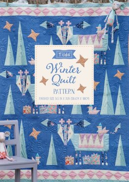 Tilda  Bird Pond - Winter Quilt Pattern - Multi