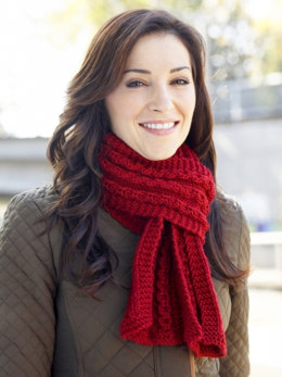 Women's Interchangeable Scarves in Caron Simply Soft and Simply Soft Collection - Downloadable PDF