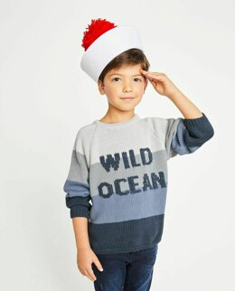 Enzo Sweater in Phildar Phil Ecocoton - Downloadable PDF