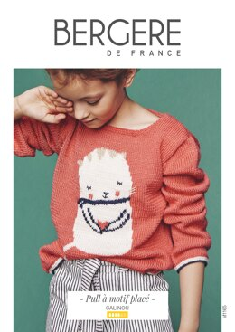 Girl Sweater in Bergere de France Calinou - M1165 - Downloadable PDF