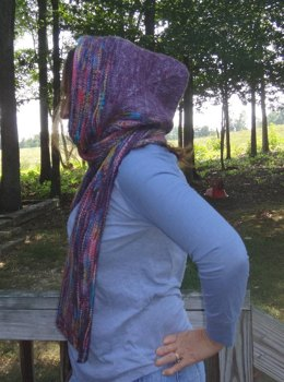 Afterthought Hooded Scarf