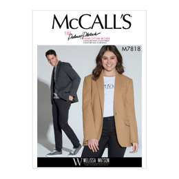 McCall's Unisex Jacket M7818 - Sewing Pattern