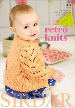 Little Retro Knits By Sirdar