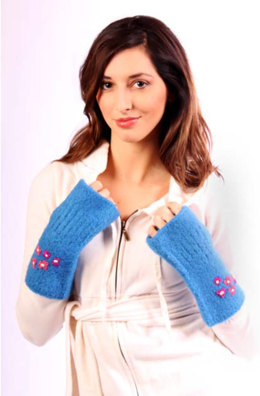 Felted Gauntlets in Caledon Hills Worsted Wool