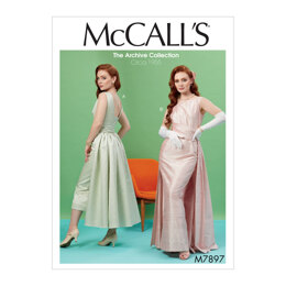 McCall's Misses' Dresses M7897 - Sewing Pattern