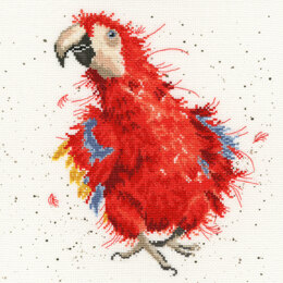 Bothy Threads Parrot on Parade Cross Stitch Kit