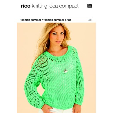 Sweater and Top in Rico Fashion Summer and Fashion Summer Print - 238