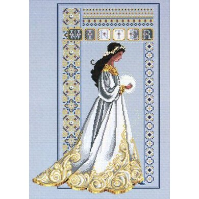 Lavender And Lace LL060 - Celtic Winter Chart - 958776 -  Leaflet