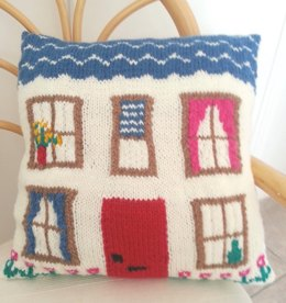 Pretty House Cushion
