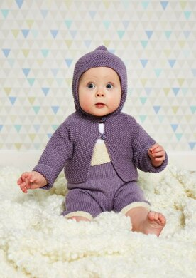 Baby Boom Baby Dungarees and Hooded Jacket