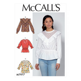 McCall's Misses' Tops M7977 - Sewing Pattern