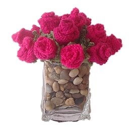A Valentine's Day Posy of Roses