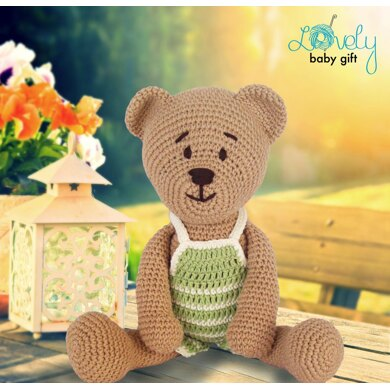 Amigurumi Crochet Tiny Teddy Bear Paid Pattern - Amigurumi Crochet ... | 390x390