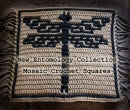 Entomology Collection Mosaic Square: Dragonfly