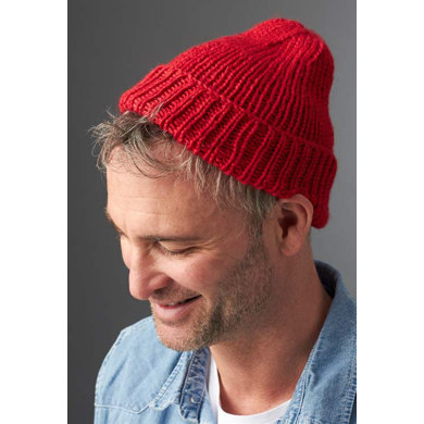 Steve's Beanie in Caron Simply Soft - Downloadable PDF