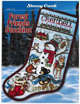 Stoney Creek Forest Friends Stocking - SCL418 -  Leaflet