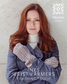 Ines Wristwarmers in MillaMia Naturally Soft Aran