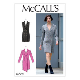 McCall's Misses' Dresses M7997 - Sewing Pattern