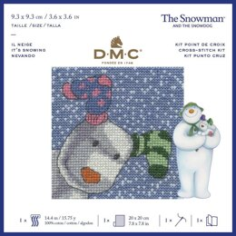 DMC The Snowdog - It's Snowing Cross Stitch Kit