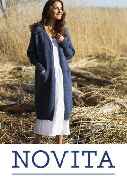 Gentle Hug Cardigan in Novita Natura - Downloadable PDF