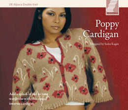 Poppy Cardigan in UK Alpaca Superfine Double Knit - Downloadable PDF