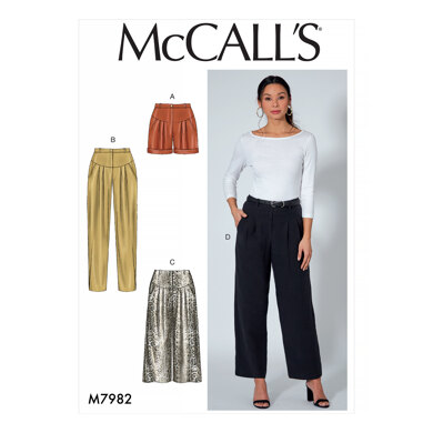 McCall's Shorts and Pants M7982 - Sewing Pattern
