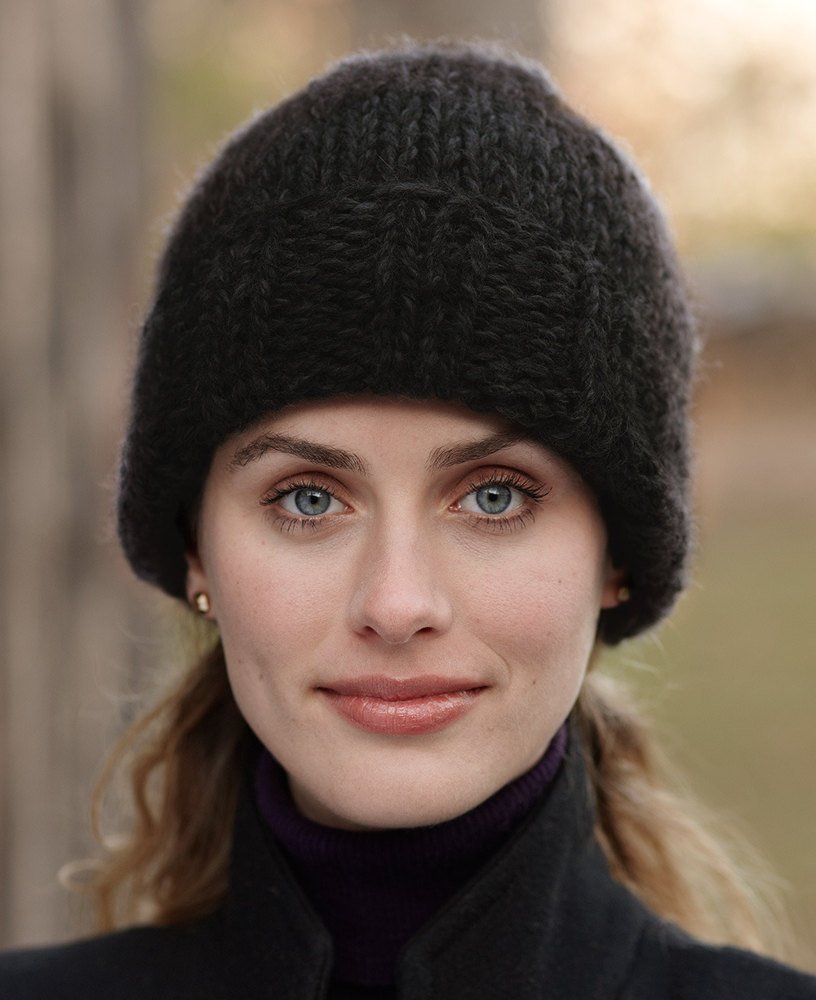 Eagle Bay Hat in Lion Brand Wool-Ease Thick & Quick - 81018C ...