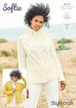 Women Jumpers in Stylecraft Softie - 9814 - Downloadable PDF