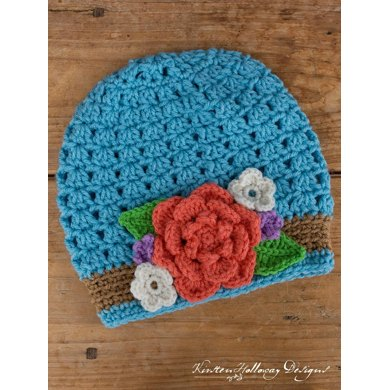 Bouquet Ladies Slouch Hat