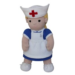 Nurse (Knit a Teddy)