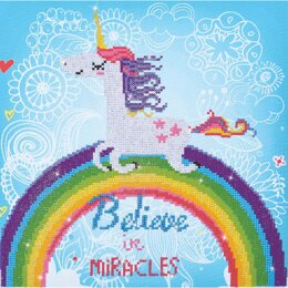 Diamond Dotz Believe in Miracles (Large) - Diamond Dotz Kit