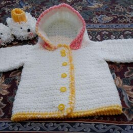 Hooded Infant Sweater