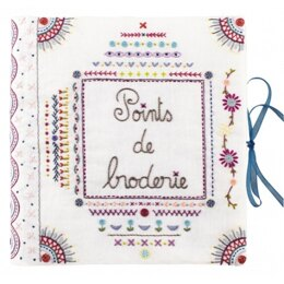 Un Chat Dans L'Aiguille Complete Sampler Notebook Embroidery Kit - Part 1