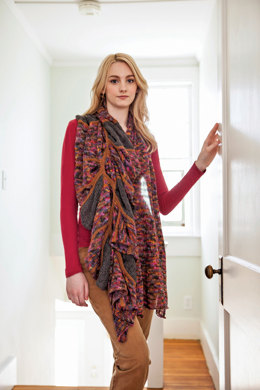 Hobhouse Shawl in Berroco Boboli Lace and Ultra Alpaca Fine - PDF334-5