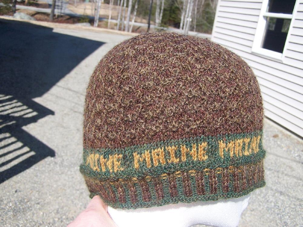 Pine Cone Knitting Pattern : Maine Pine Cone Hat Knitting pattern by Donna Ritchie Knitting Patterns L...
