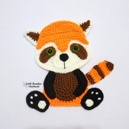 Red Panda Applique