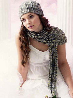 Scarf & Hat in Araucania Botany Lace