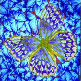 Diamond Dotz Flutterby Silver Diamond Painting Kit