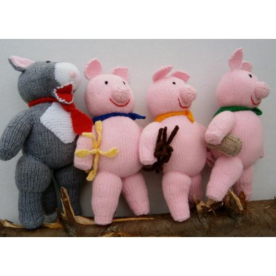The Three Little Pigs and the Big, Bad Wolf