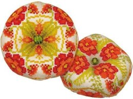 Riolis Poppy Biscornu Cross Stitch Kit - Multi