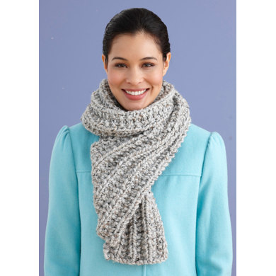 Brisbane Scarf in Lion Brand Wool-Ease Thick & Quick - 90619J