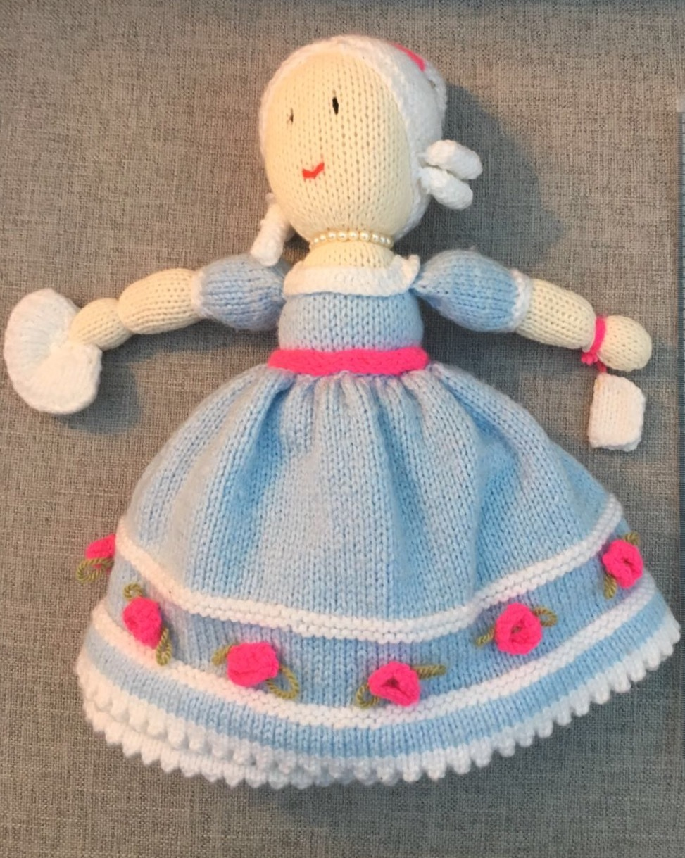 Cinderella Topsy-Turvy Doll knitting project by Susan I ...