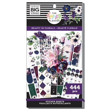 Me & My Big Ideas The Beauty In Florals 30 Sheet Sticker Pad