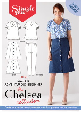 Simple Sew Patterns The Chelsea Collection #031 - Sewing Pattern