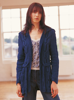 Haven Cardigan in Rowan Original Denim