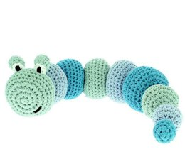 Caterpillar Toy in Hoooked RibbonXL - Downloadable PDF