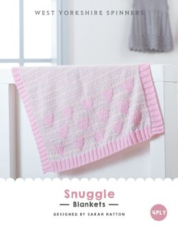 Snuggle Blankets in West Yorkshire Spinners Bo Peep 4 Ply - DBP0019 - Downloadable PDF
