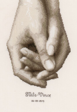 Vervaco Hand in Hand Cross Stitch Kit
