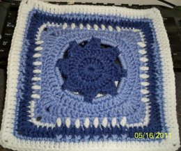 Over The Border Granny Square