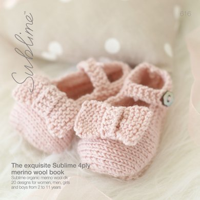 The Irresistibly Sublime Baby 4 Ply Book by Sublime - 616